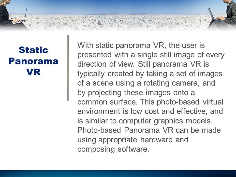 Abstract Panoramic Virtual Reality Motivation to Use Virtual Reality