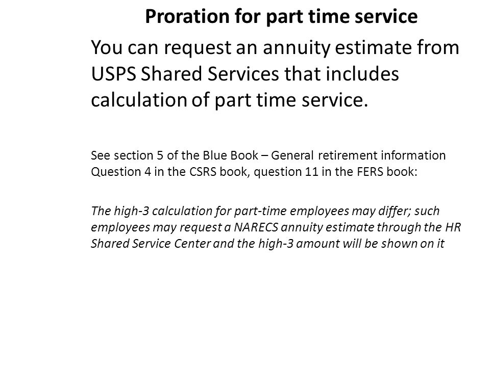csrs and fers a guide for employees approaching retirement ppt
