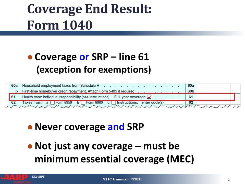 Tax Aide Affordable Care Act Pub 4012 Aca Tab Pub 4491 Part 1