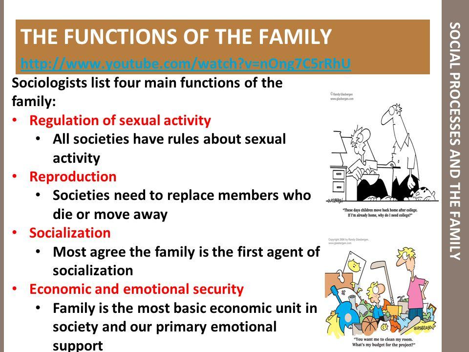 Sexual socialization process