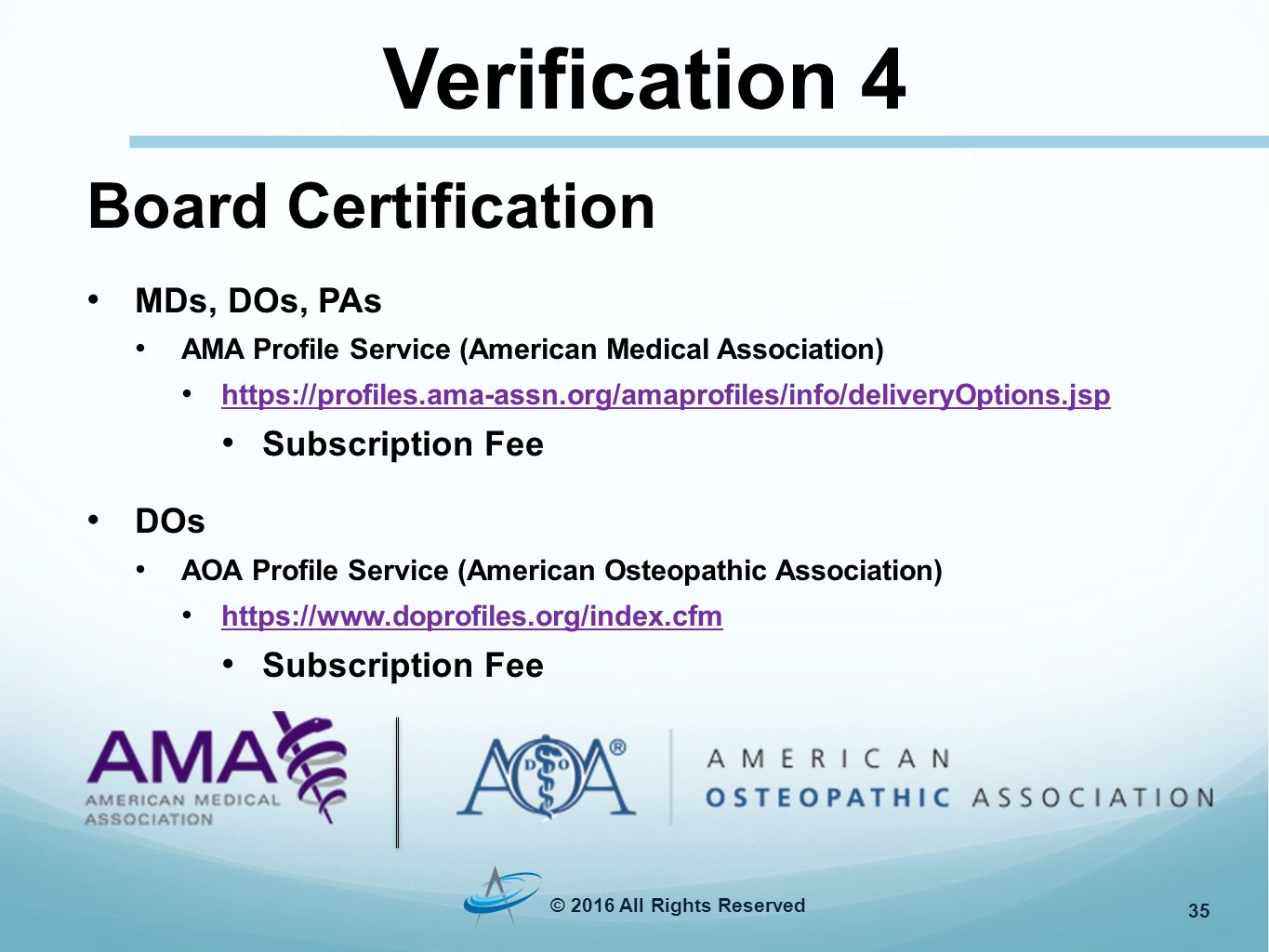 Connecting Technology With Credentialing Verifications Donna