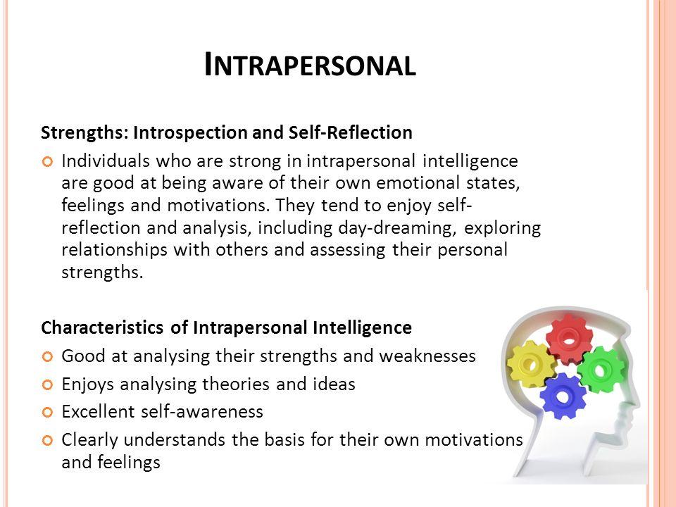 naturalistic intelligence activities