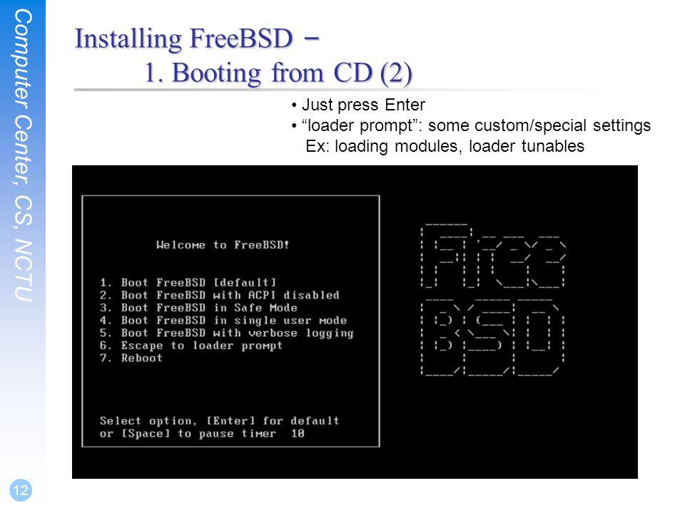 SA-NA Junction FreeBSD  Computer Center, CS, NCTU 2 Outline