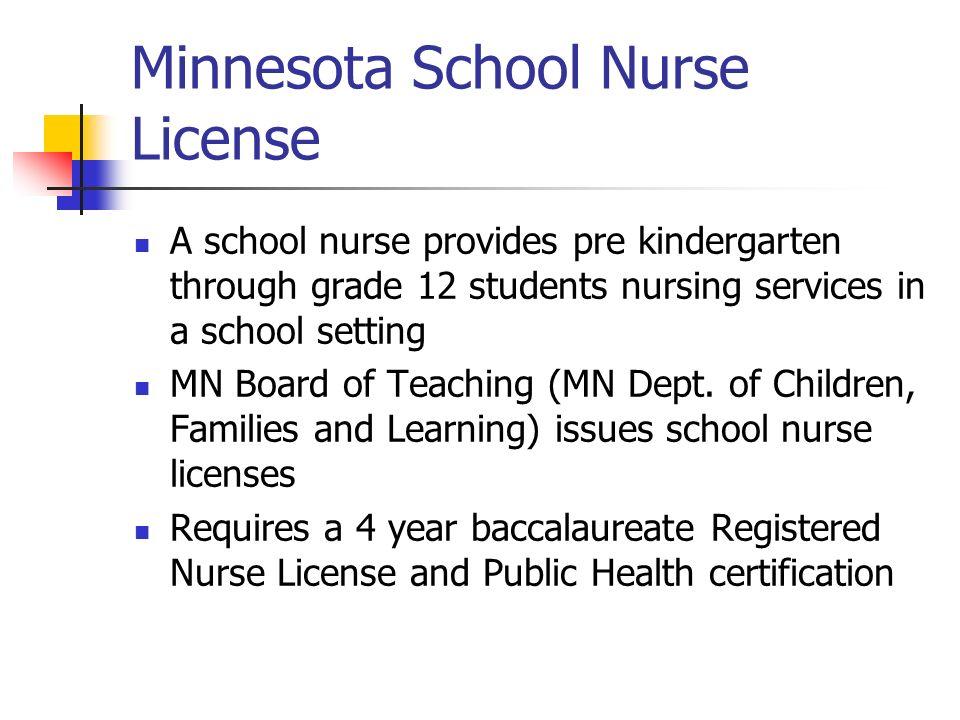school nursing healthy students learn better! by: karen buchert r.n. ...