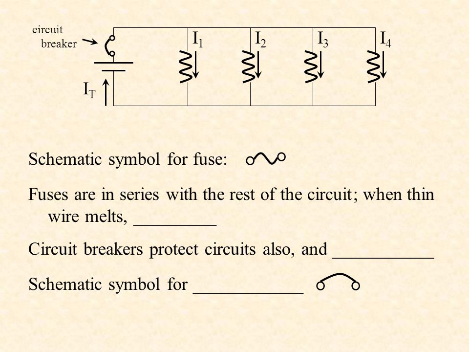 Electricity, Ohm's Law and Circuits Physical Science Unit 8 ... on fuse electrical symbol clip art, fuse circuit breaker symbol, fuse symbol electronics, fuse symbol chart,