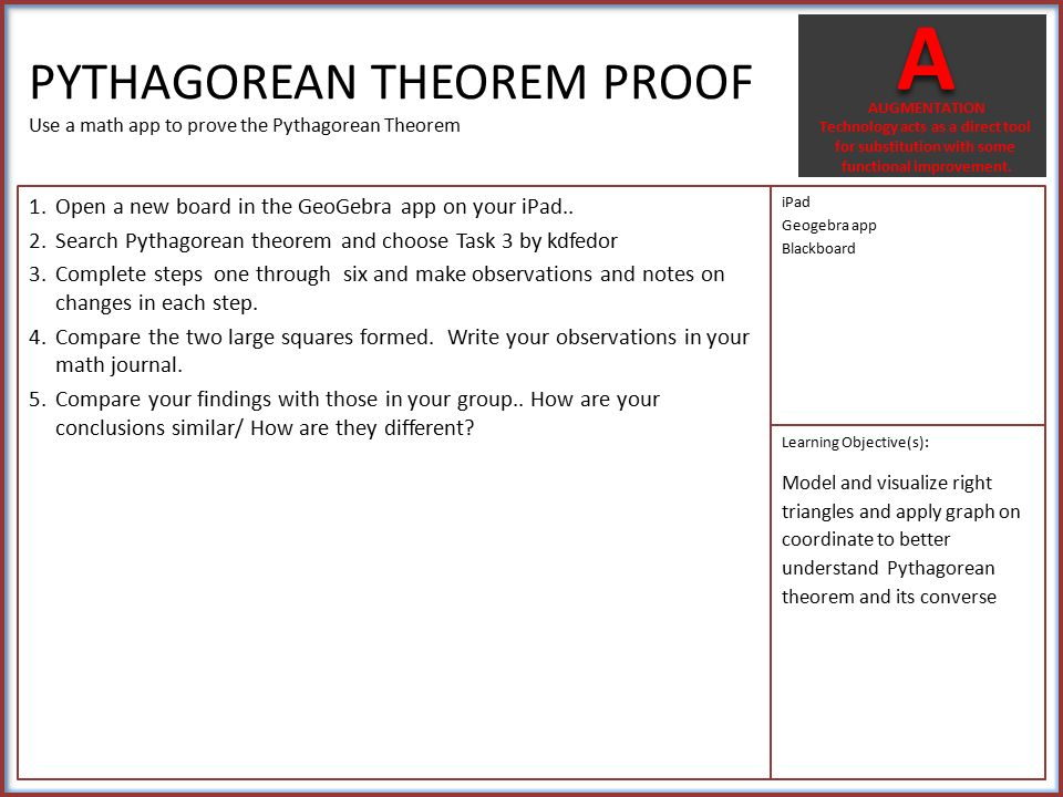 G-SRT C 8: Use trigonometric ratios and the Pythagorean