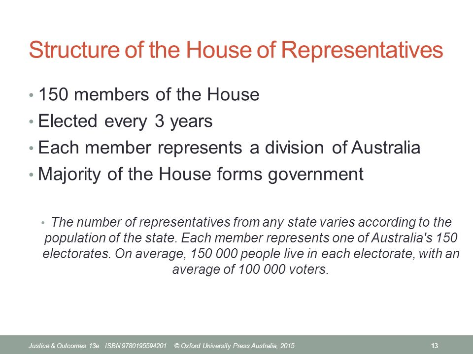 justice & outcomes 13 chapter 1 the australian parliamentary system