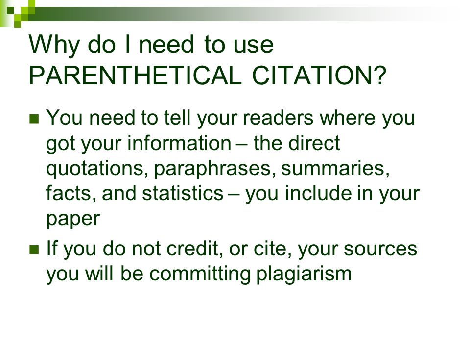 citation of research paper