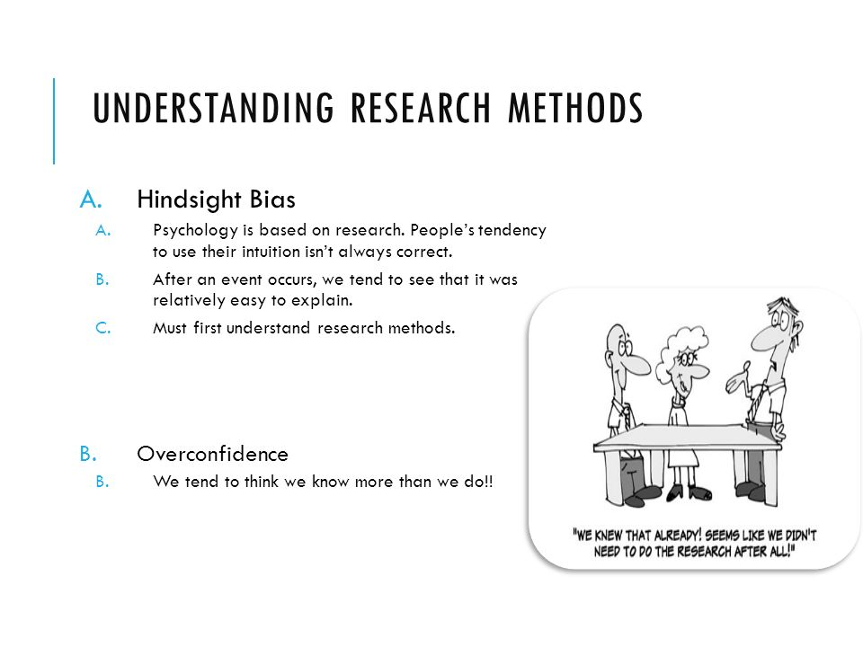 Unit 2 Ap Psychology Understanding Research Methods Ahindsight