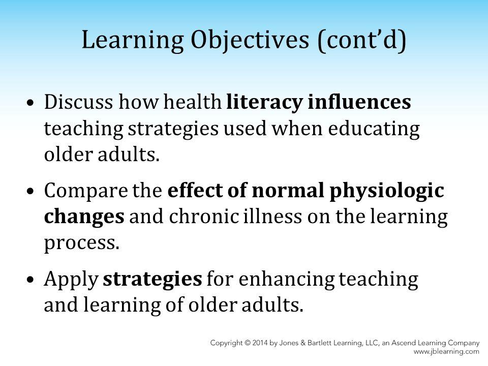 Older adults teaching strategies