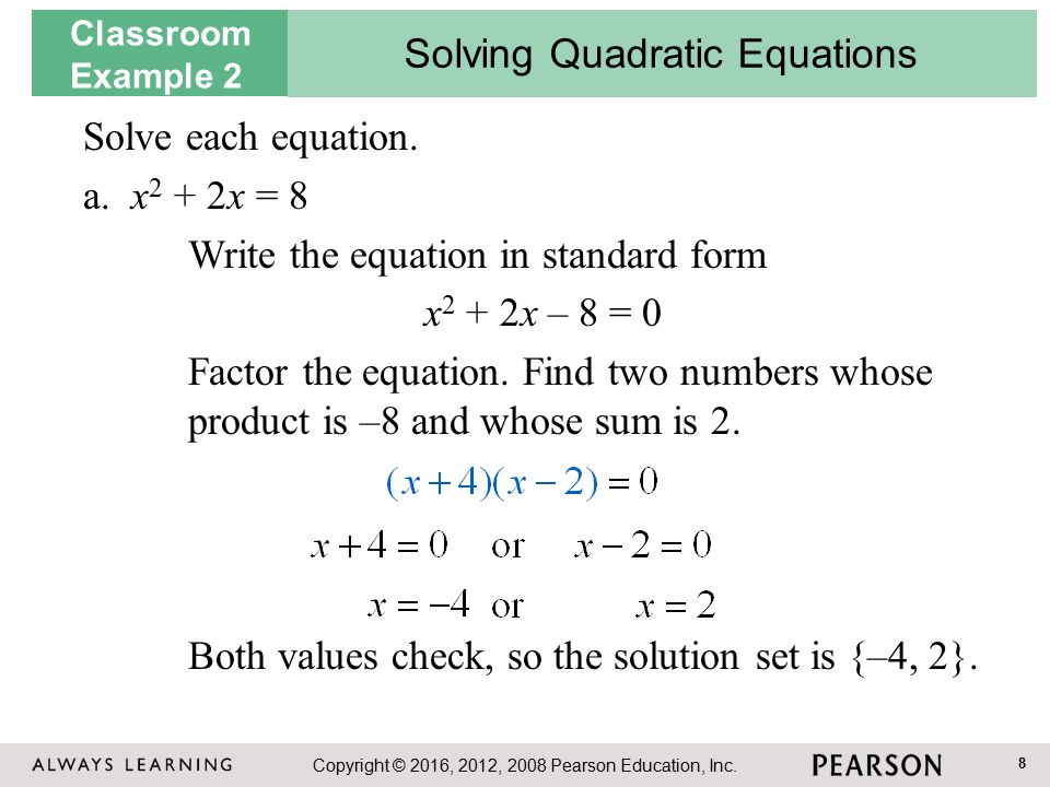 write a quadratic equation with the given roots calculator