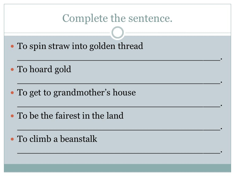 What do these sentences have in common? To race rabbits was ...