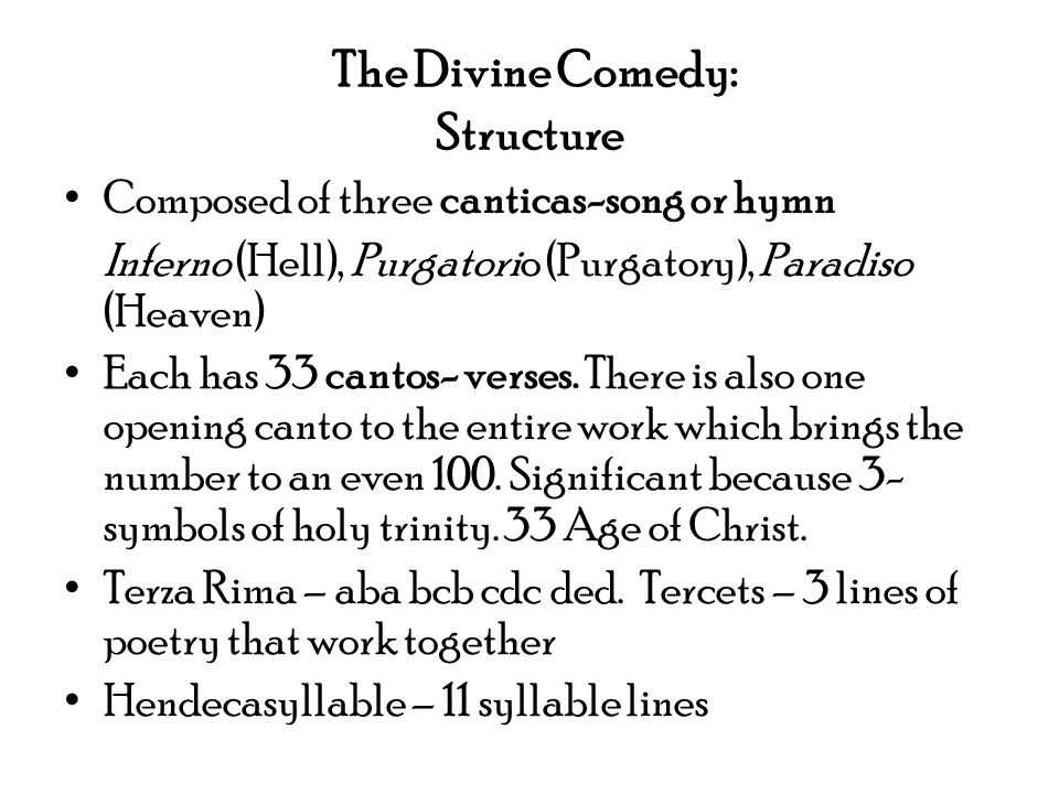 Dantes Inferno Part One Of The Divine Comedy Written By Dante