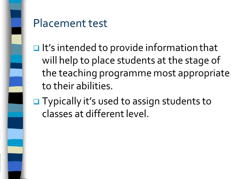 Understanding Language Testing What Is Testing Ppt