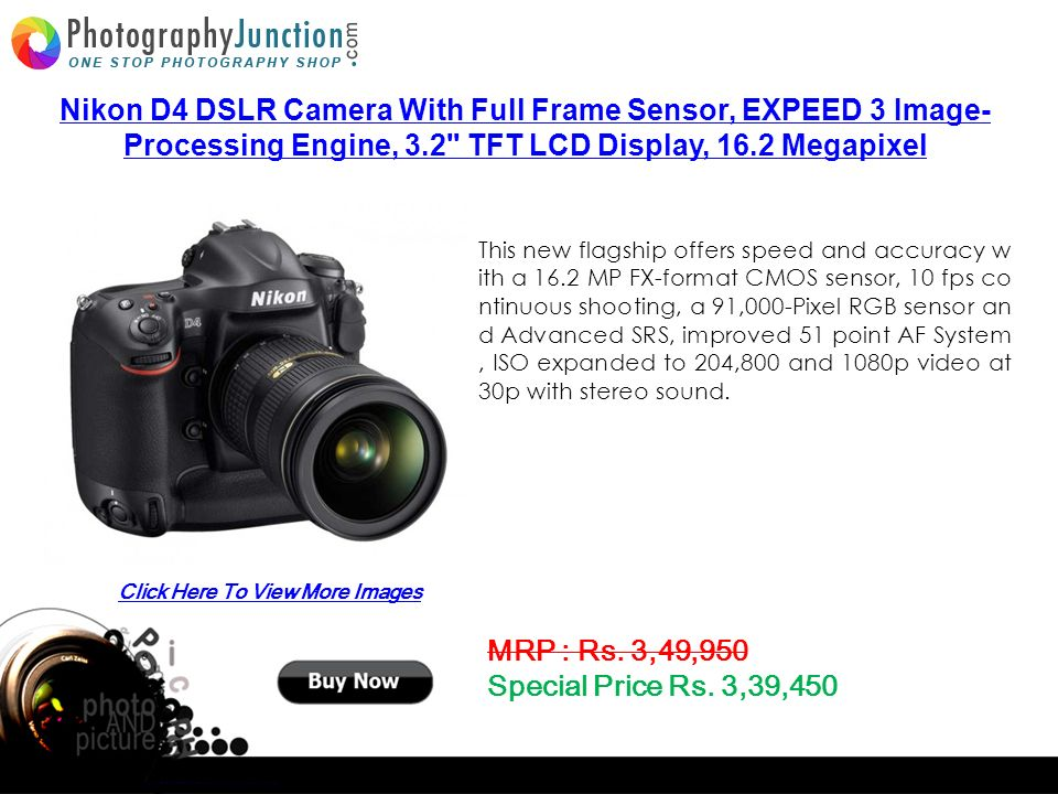 Top 5 Digital SLR Camera Buy Now From - ppt download