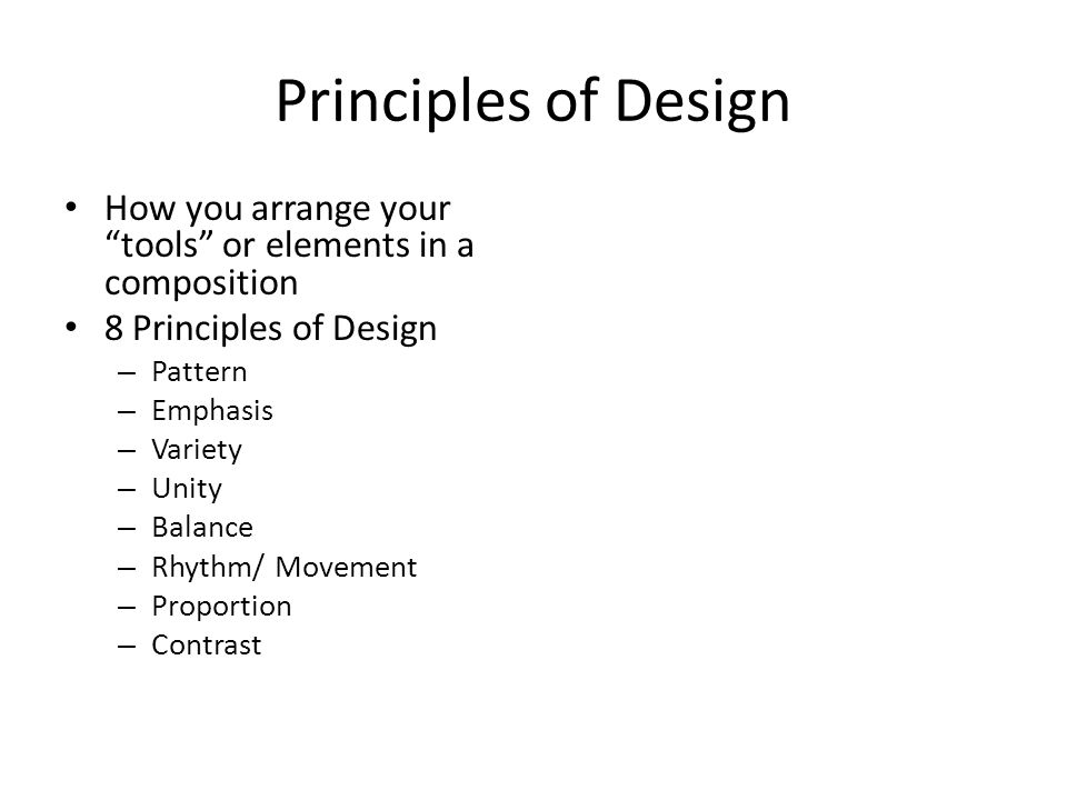 Composition Elements Of Art And Principles Design A Artists