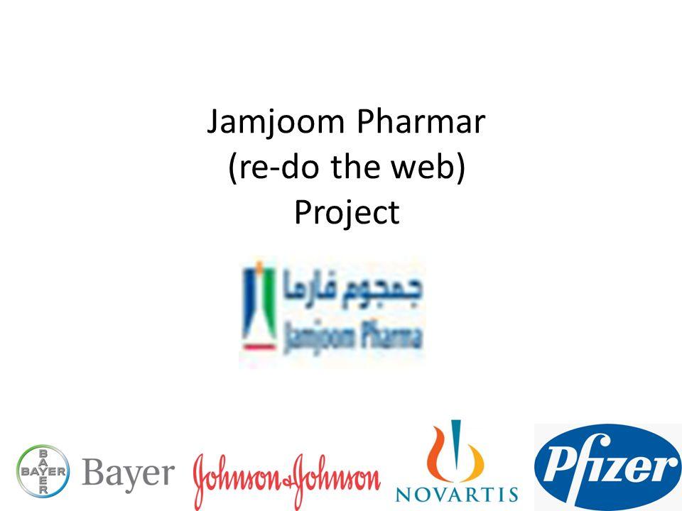 Jamjoom Pharmar (re-do the web) Project  Welcome to Novartis
