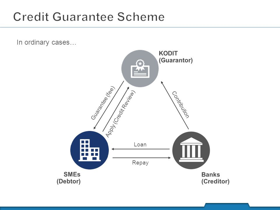Credit guarantee scheme example | download scientific diagram.