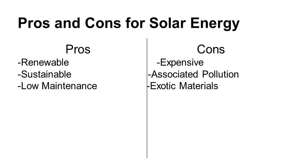 Solar Energy Is A Radiant