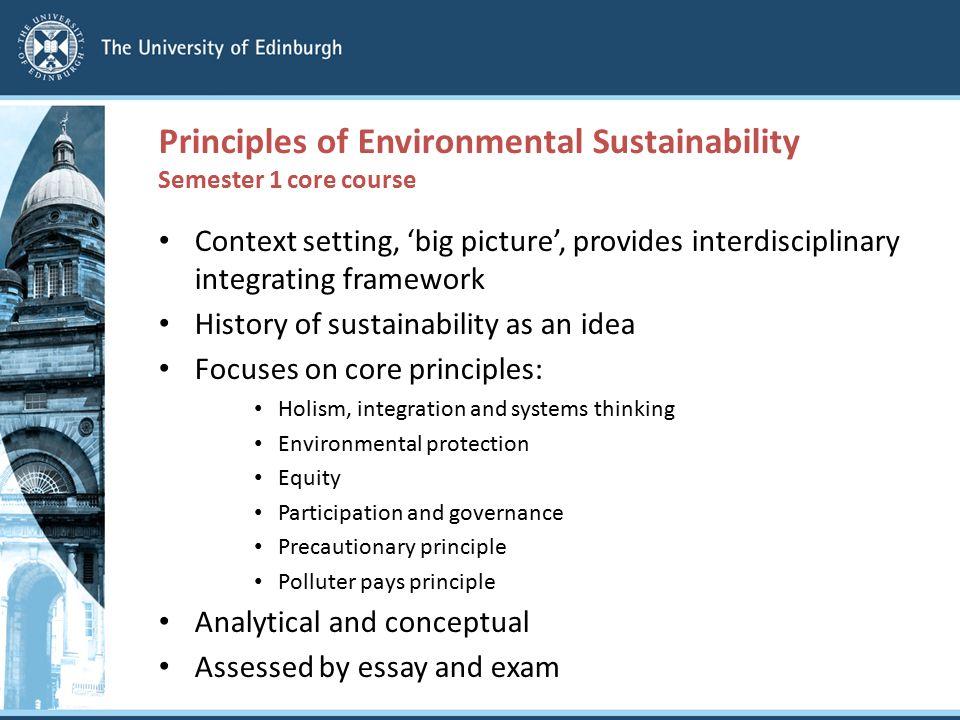 environmental holism