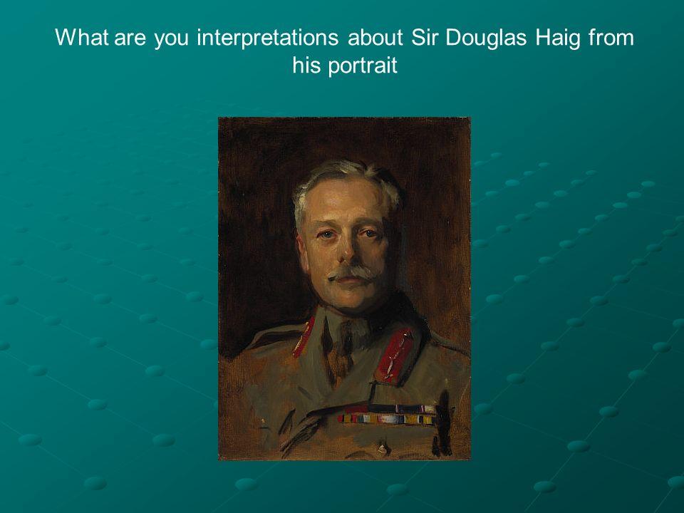 general haig coursework