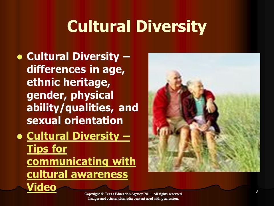 Sexual orientation cultural diversity