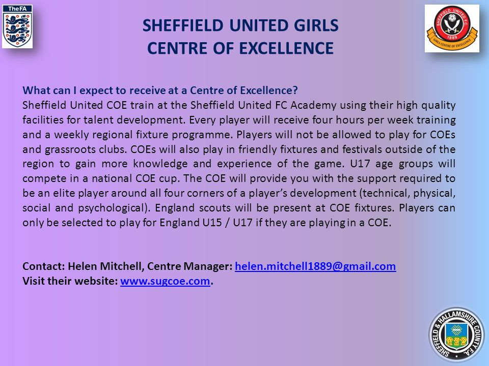 This booklet has been created by Sheffield & Hallamshire FA