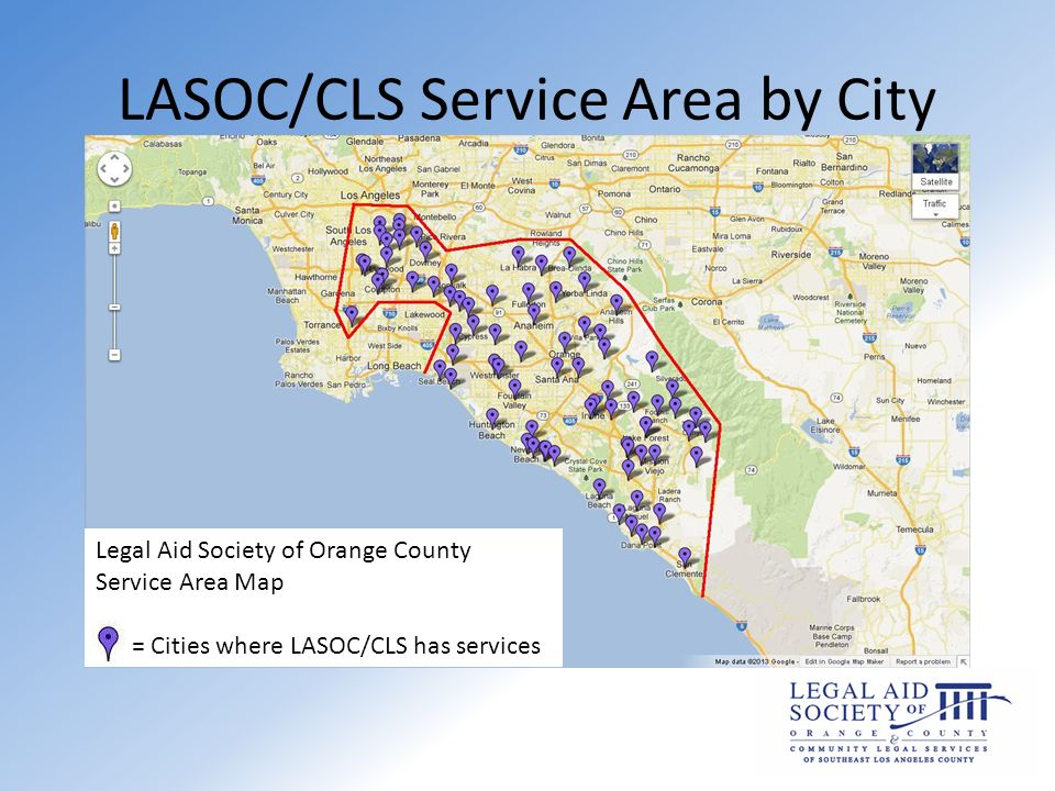 Legal Aid Society of Orange County Community Legal Services