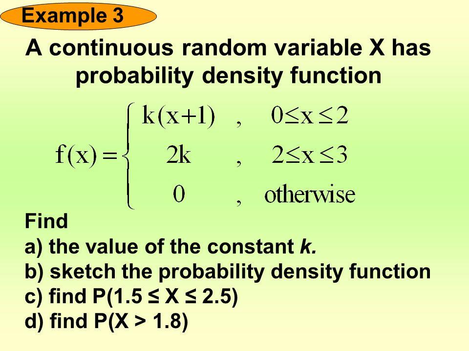 Discrete random variables.