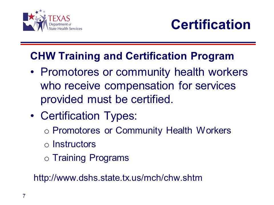 Community Health Workers (CHWs) as Members of Interdisciplinary ...