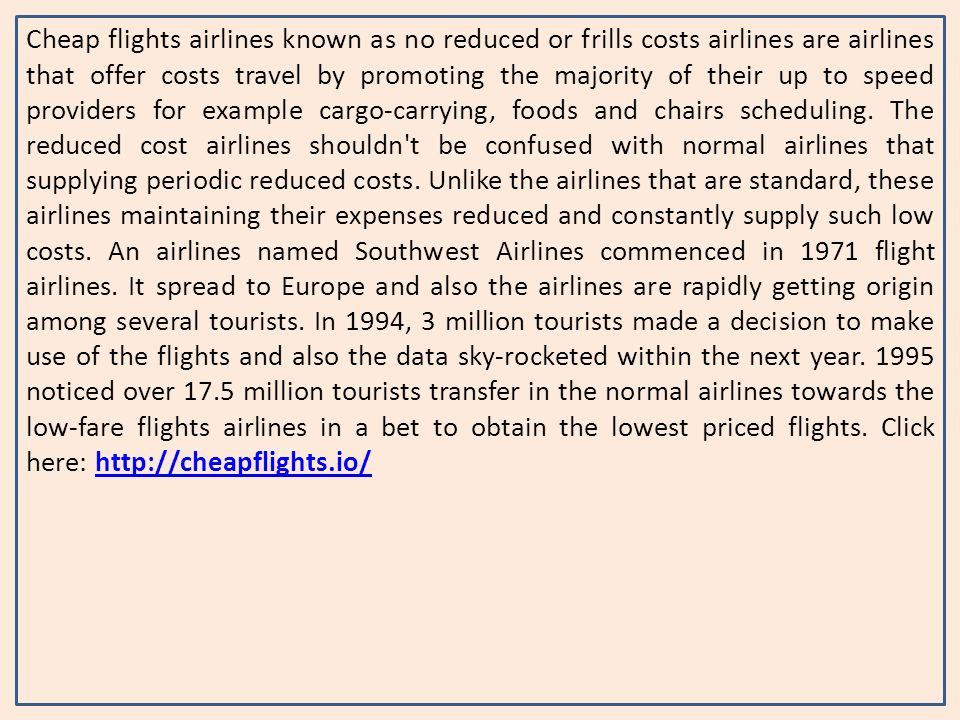 Cheap Flights Airlines Known As No Reduced Or Frills Costs Airlines Are Airlines That Offer Costs