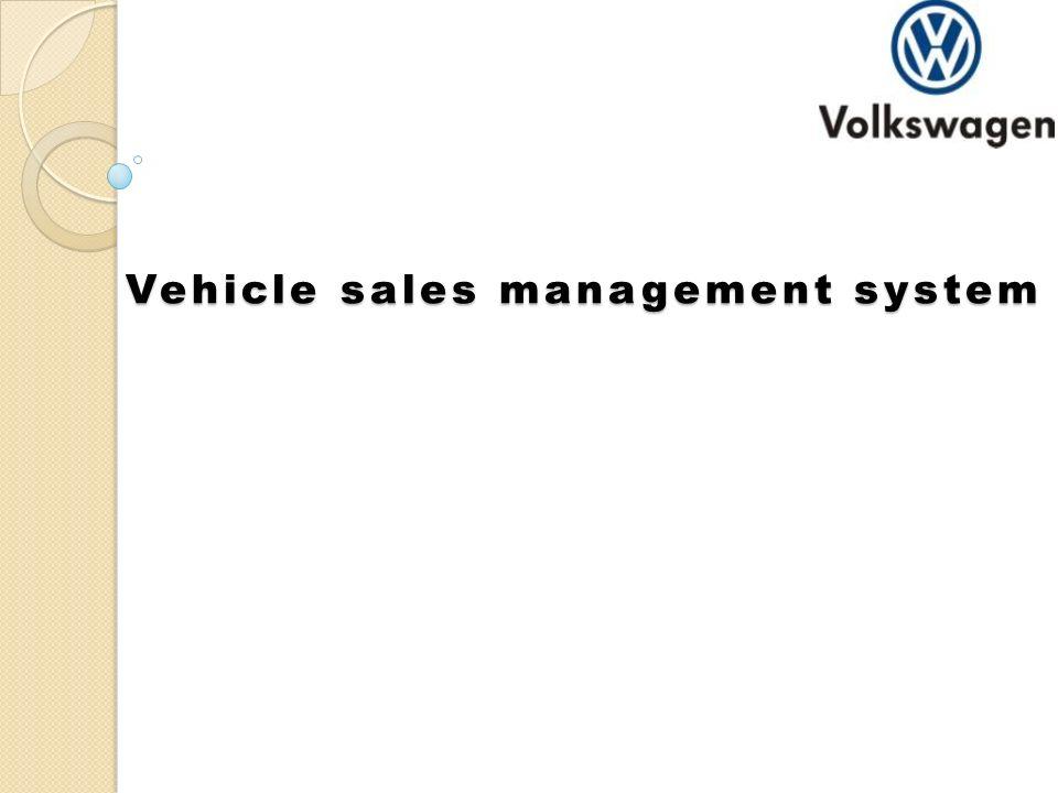 Vehicle sales management system  TECHNOLOGY USED Language