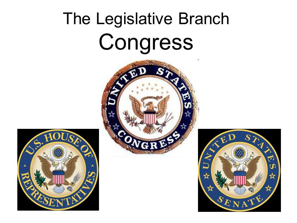 the legislative branch congress introduction to congress the u s
