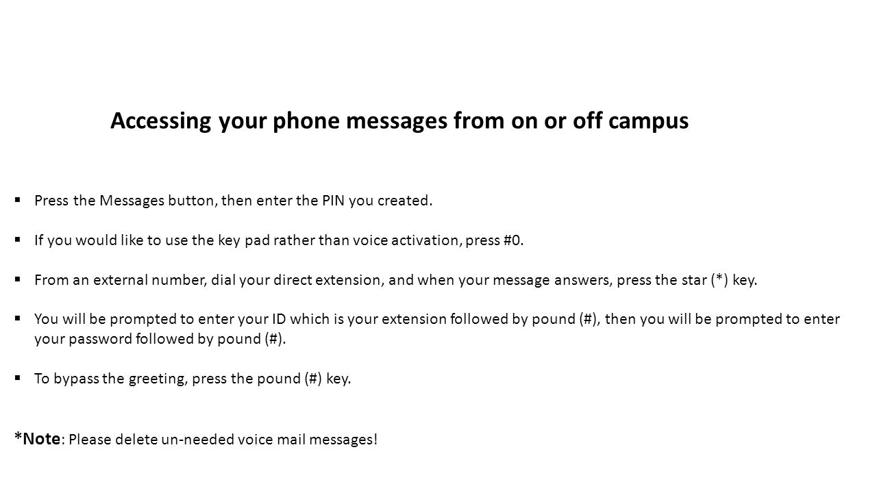 Using The Napa Valley College Phone And Help Desk Systems Ppt