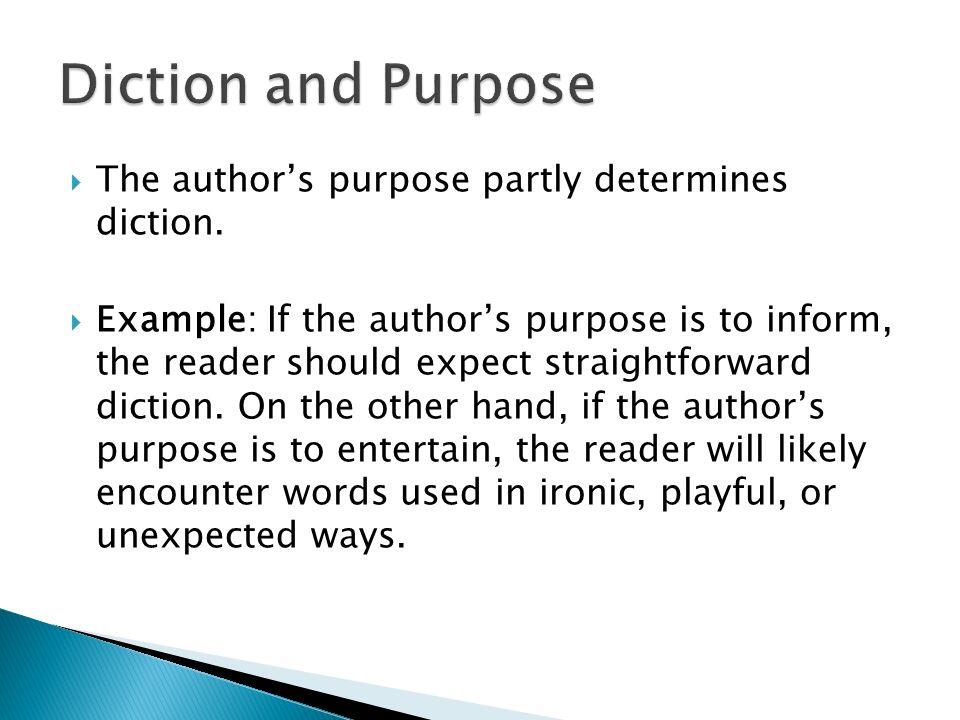 Acquiring A Deeper Understanding Of Text Diction Detail