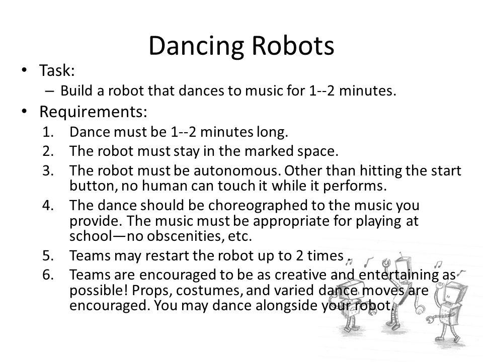 Robot Dances Exploring Computer Science Lesson ppt download