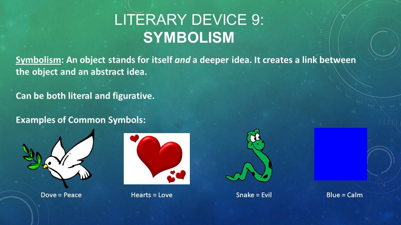 examples of symbolism in books
