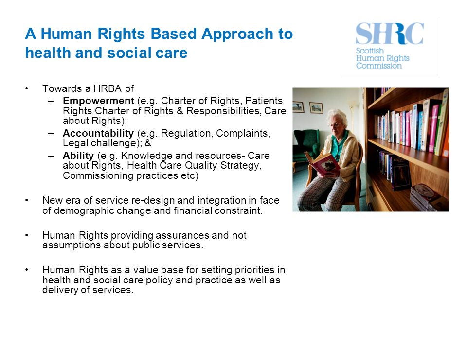 rights and responsibilities in health and social care