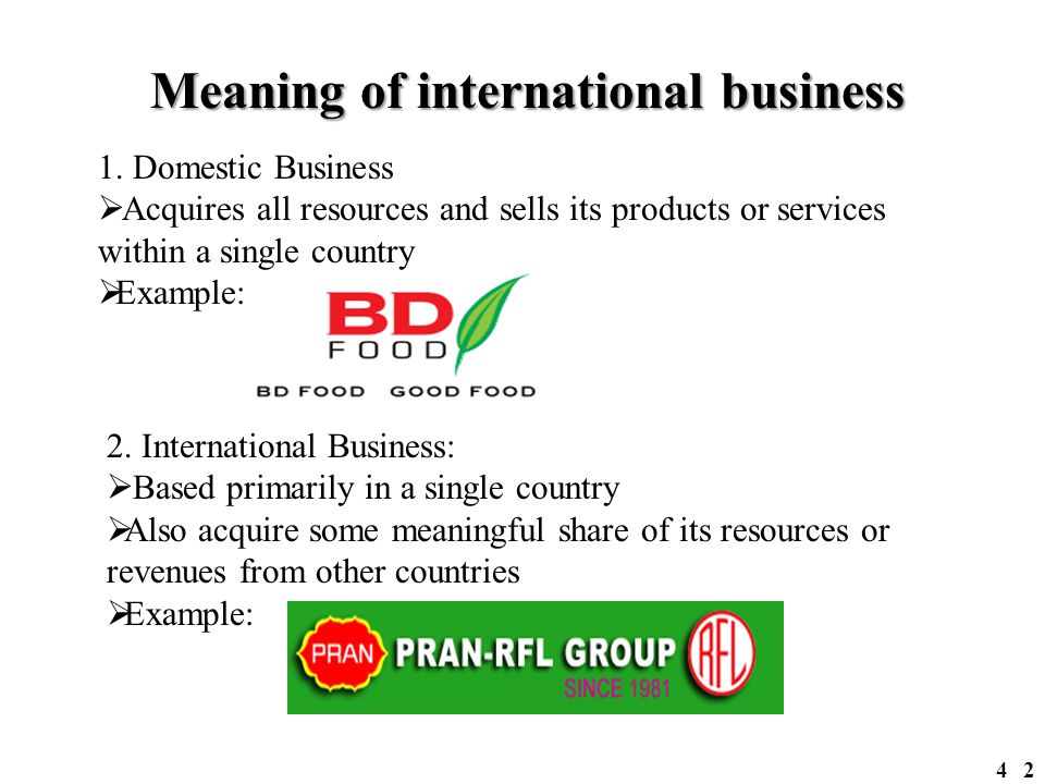 Examples of business implications.