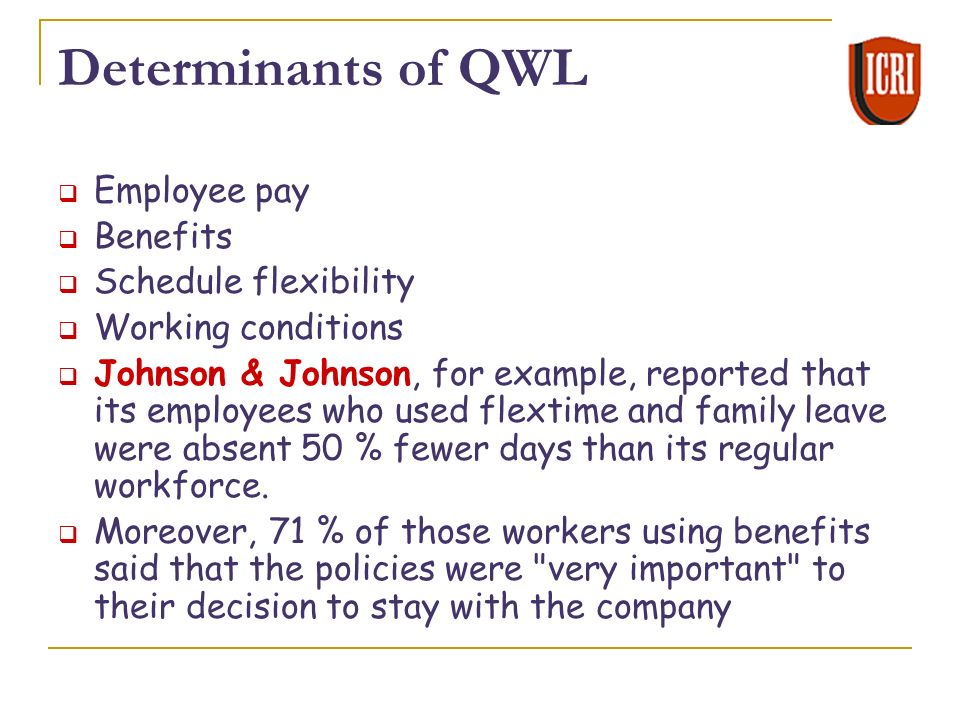 IMPORTANCE OF QUALITY OF WORKLIFE DOWNLOAD