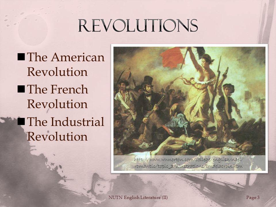 french revolution in english literature