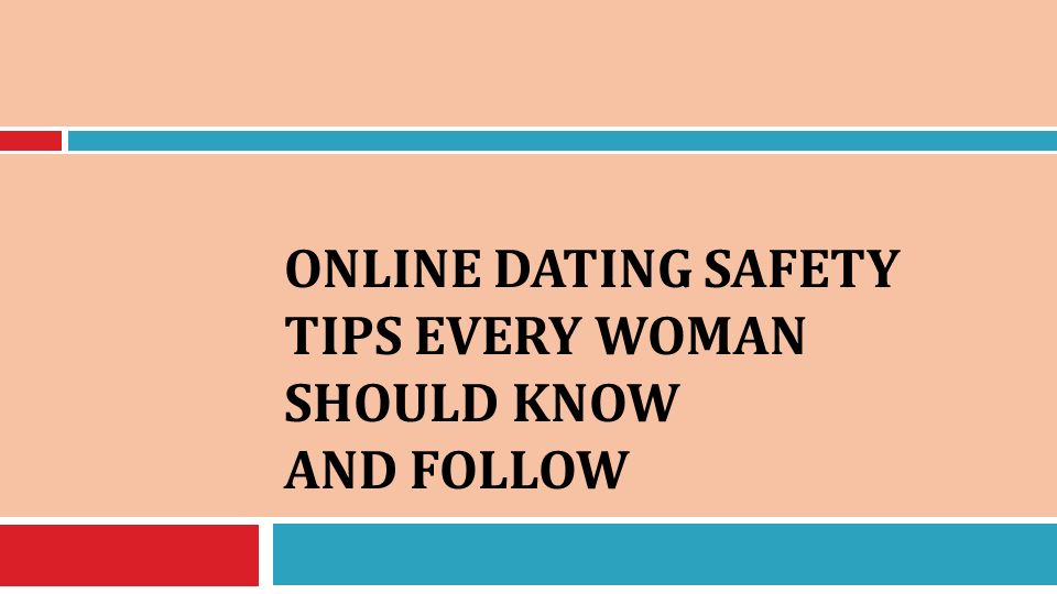 tips in online dating