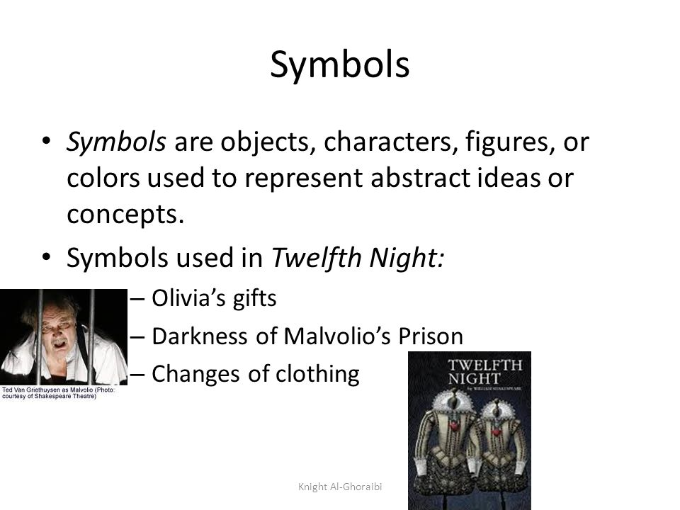 Twelfth Night Major Themes Knight Al Ghoraibi Major Themes Themes