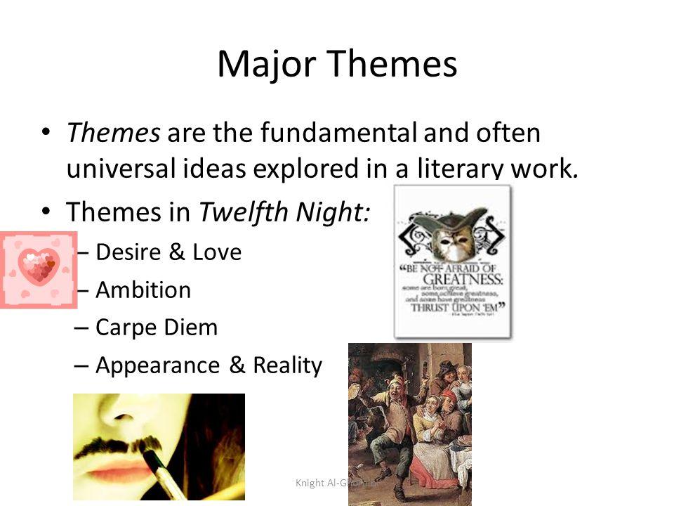 twelfth night themes