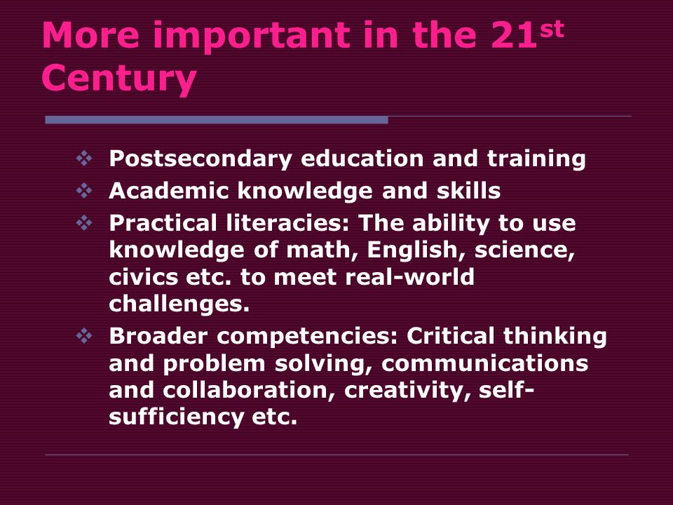 The Real 21st Century Problem In Public >> Defining 21st Century Skills A Frameworks For Norfolk Public