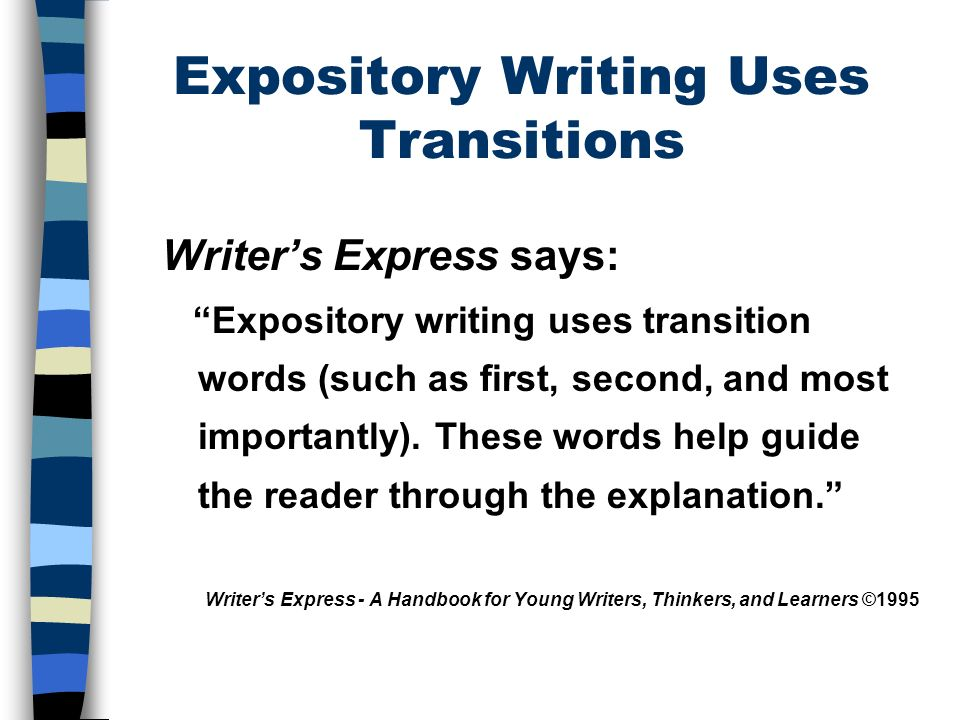 The Five Paragraph Essay A Framework For Expository Writing Ppt