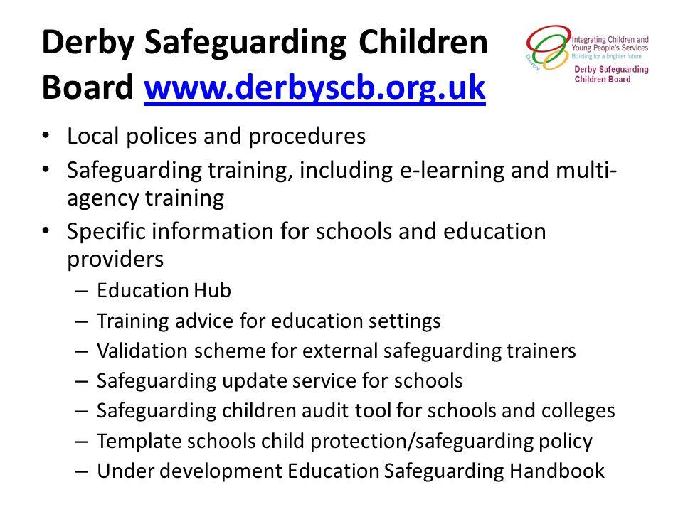 3 derby safeguarding