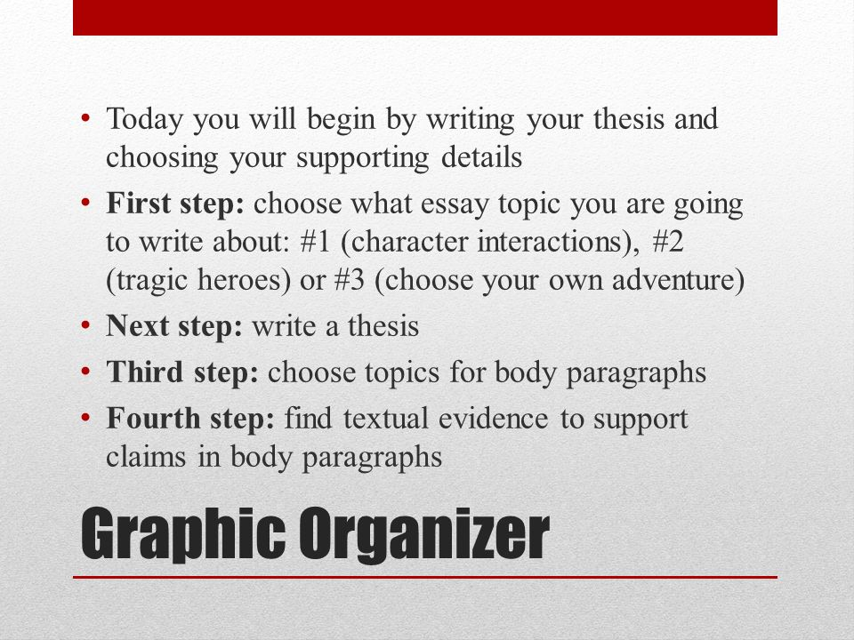 Writing Workshop Antigone Graphic Organizer Today You Will Begin By   Graphic  How To Write Essay Proposal also Best Essay Topics For High School  High School Sample Essay