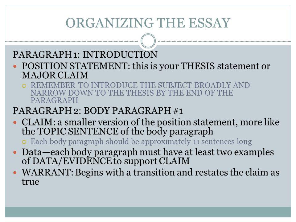 toulmin essay example
