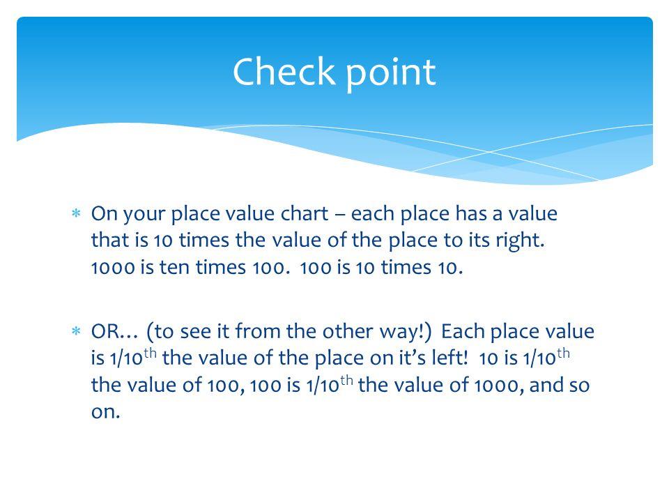 Everyday Mathematics Grade 4 Lesson 41 Decimal Place Value